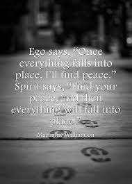 Ego vs Peace