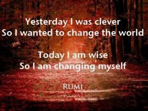 Today I Change