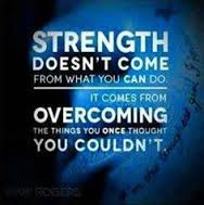 Strength Overcome Impossible