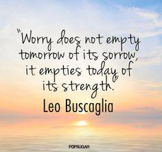 Worry Sorrow