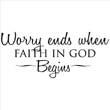 Begin with Faith