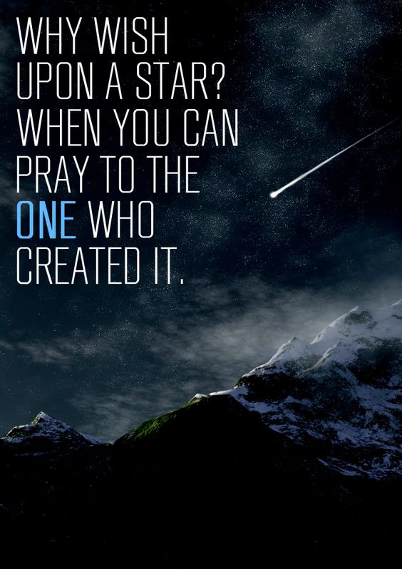 Prayers are Greater than Wishes