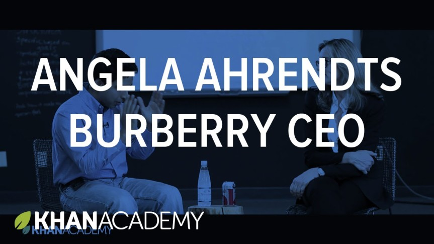 A Conversation with AngelaAhrendts