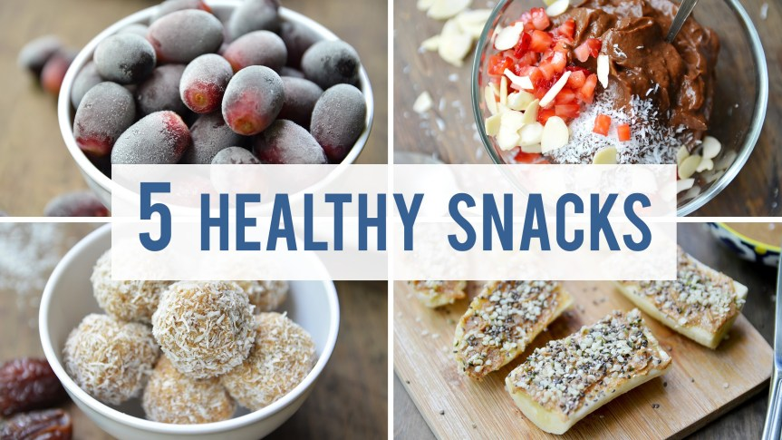 Fablunch: Five Easy and Healthy Snacks