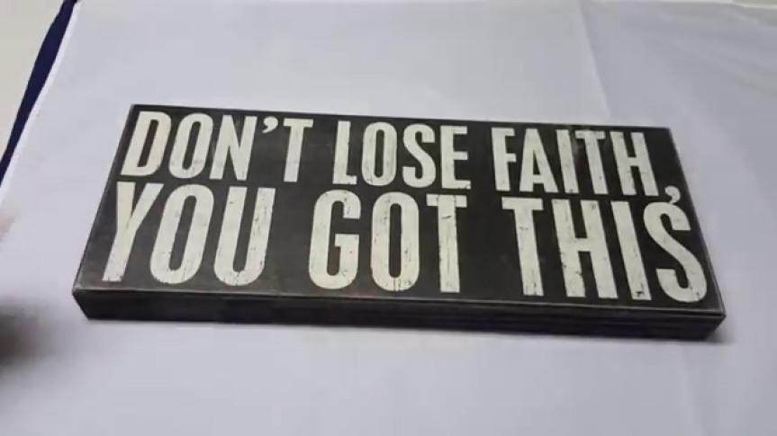 Don't Lose Faith