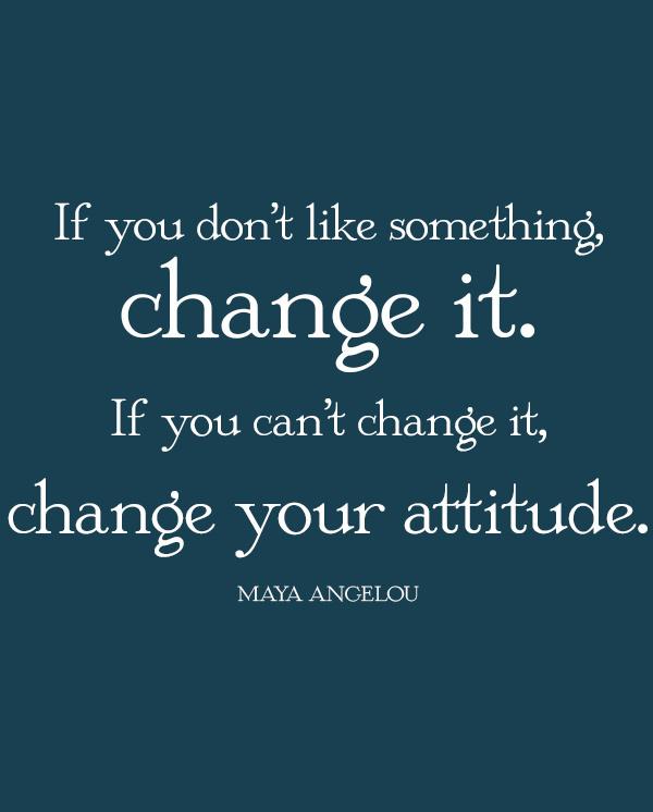 Change Will BeRequired