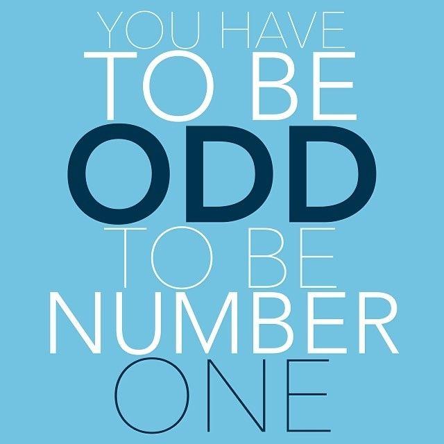 Be Odd!!